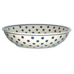Bowl in 'polka dot' pattern