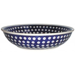 Bowl in 'blue eyespot' pattern