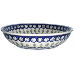 Bowl in 'peacock with...