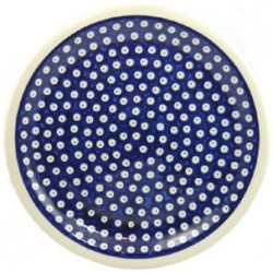 Large Plate 27 cm in 'blue...