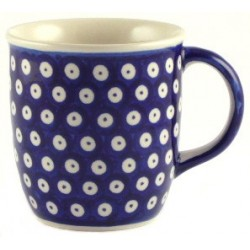 Tall Mug in 'blue eyespot'...