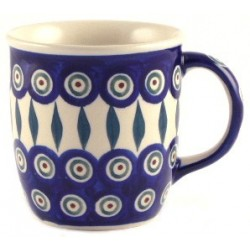 Tall Mug in 'peacock with...