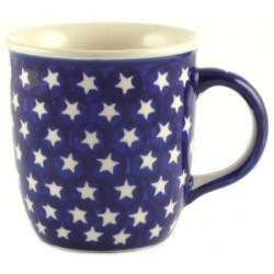 Tall Mug in 'star' pattern