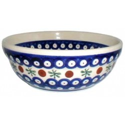 Bowl in 'blue eyespot with...