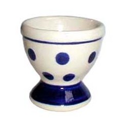 Egg Cup in 'polka dot' pattern