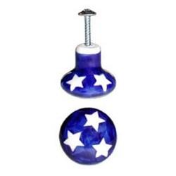 Door Knob in 'star' pattern