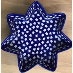 Star Dish in 'star' pattern