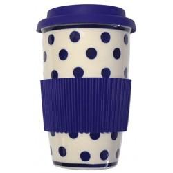 Takeaway Mug in 'polka dot'...