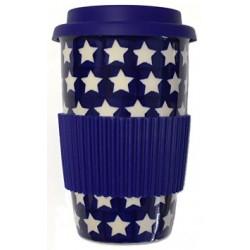 Takeaway Mug in 'star' pattern