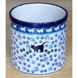 Utensil Pot in 'Cat' pattern