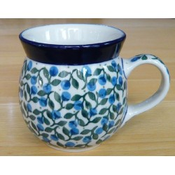 Mug 0.2 ltr in 'Berry' pattern