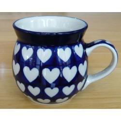 Mug 0.25 ltr in 'Hearts'...