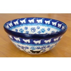 S. Bowl in 'Cat' pattern
