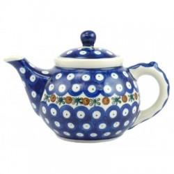 S. Teapot 0.4 Ltr in 'blue...