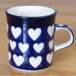 Small Mug in 'Heart' pattern