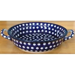 S. Round Dish in 'blue...