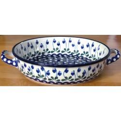 Round Dish in 'Leaf Heart'...