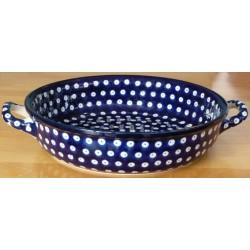 Round Dish in 'blue...