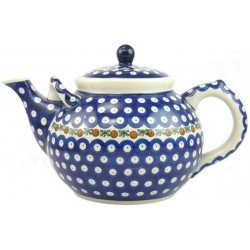 Large Teapot in 'blue...