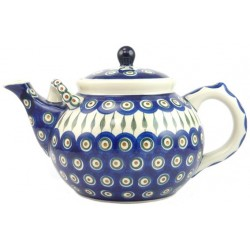 Large Teapot in 'peacock...