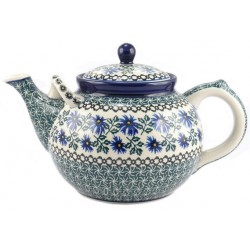L. Teapot in 'cornflower'...