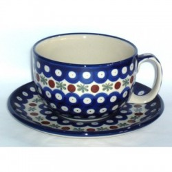 L. Cup & Saucer in 'blue...