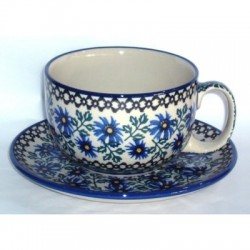 L. Cup & Saucer in...