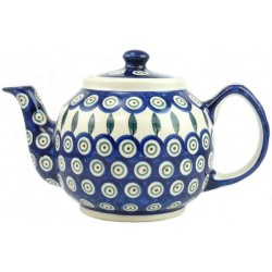 Medium Teapot in 'peacock...
