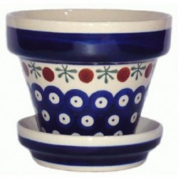 S. Flower Pot in 'blue...