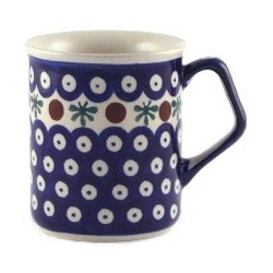 Mug in 'blue eyespot with...