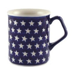 Mug in 'star' pattern
