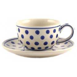 Cup & Saucer in 'polka dot'...
