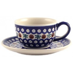 Cup & Saucer in 'blue...