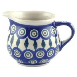 Small Jug in 'peacock with...