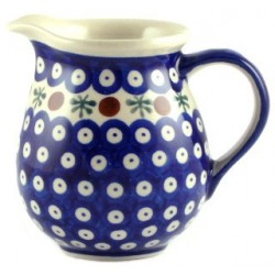 Jug in 'blue eyespot with...