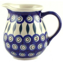 Jug in 'peacock with...
