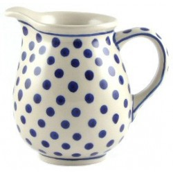 Jug in 'polka dot' pattern