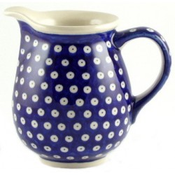 Jug in 'blue eyespot' pattern