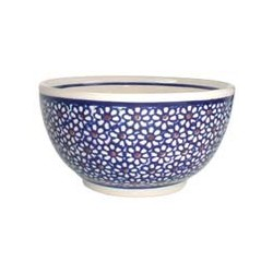French Bowl in 'daisy' pattern
